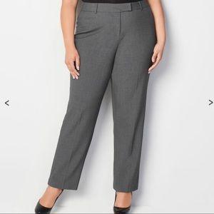 NWT Avenue Studio Women's Gray Dress Pants 1202